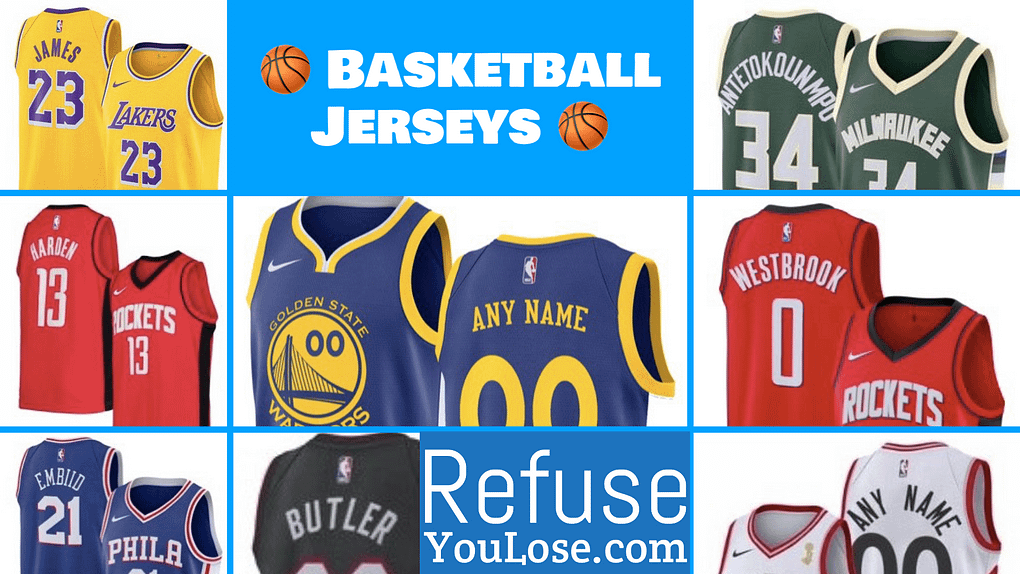 NBA Basketball Jerseys - RefuseYouLose.com