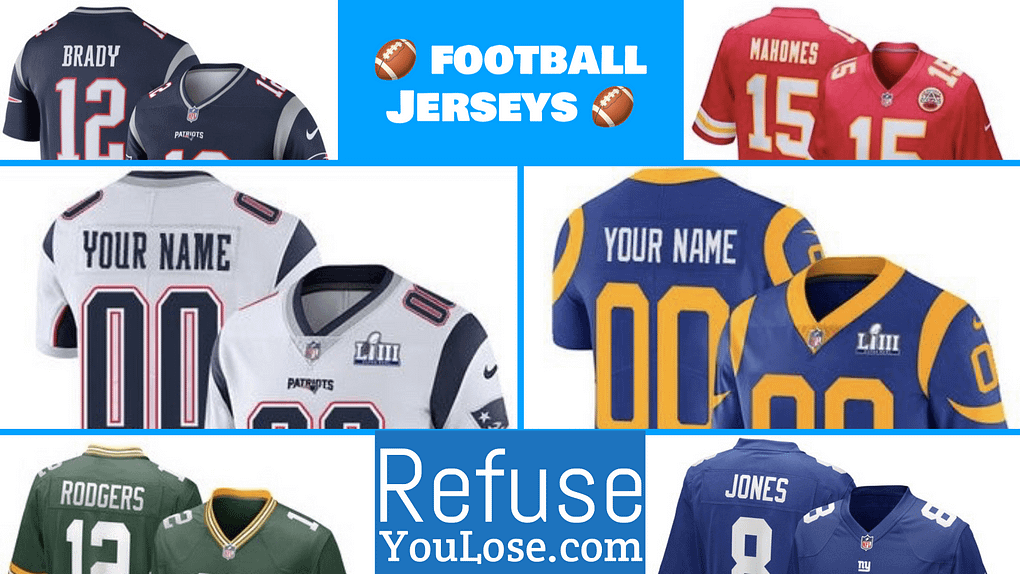 NFL Football Jerseys - RefuseYouLose.com
