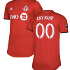 Toronto FC MLS Soccer Jersey for Men, Women, or Youth (Any Name and Number) color: 2018 Home 2018 Road 2019 Home 2019 Road  Refuse You Lose