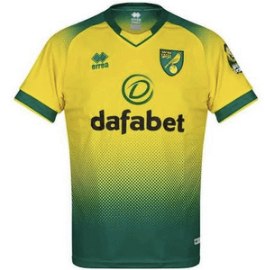 Norwich City F.C. Soccer Jersey for Men, Women, or Youth (Any Name and Number) Refuse You Lose color: Home