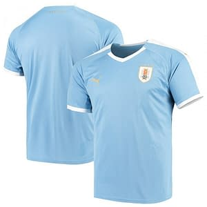 Uruguay Soccer Jersey For Men, Women, or Youth | Customizable color: 2018-2019 Home|2018-2019 Road|2019-2020 Home|2019-2020 Road  Refuse You Lose
