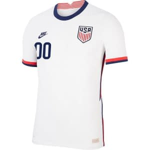 USA Soccer Jersey For Men, Women, or Youth | Customizable color: 2019-2020 Home|2019-2020 Road|2020-2021 Home|2020-2021 Road  Refuse You Lose