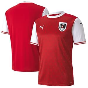 Austria Soccer Jersey For Men, Women, or Youth | Customizable color: 2018-2019 Road|2020-2021 Home|2020-2021 Road  Refuse You Lose