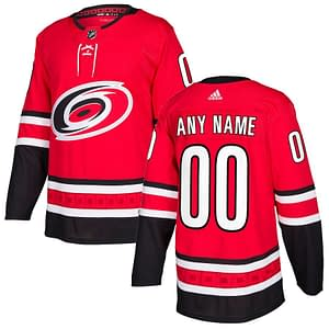 Carolina Hurricanes Jersey For Men, Women, or Youth   Customizable color: Black Golden Reverse Retro Alternate Home Road  Refuse You Lose
