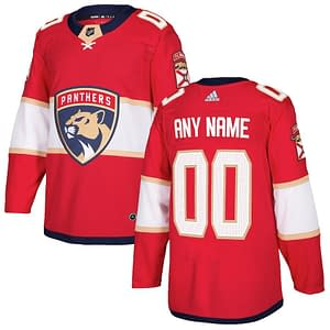 Florida Panthers Hockey Jersey For Men, Women, or Youth   Customizable color: Black Golden Reverse Retro Home Road  Refuse You Lose