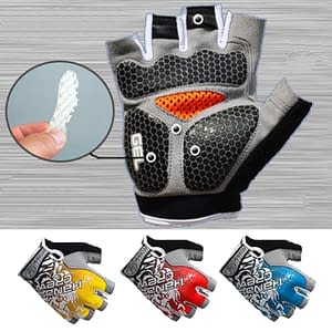Gel Padded Anti-Slip Sport Gloves Refuse You Lose size: Medium|Large|XL