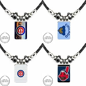 Chicago Cubs Baseball Unisex Necklace Refuse You Lose metal-color: as picture|as picture|as picture|as picture|as picture|as picture|as picture|as picture|as picture|as picture|as picture|as picture