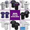 Colorado Rockies Jersey For Men, Women, or Youth | Customizable color: 2018 Nickname|2019 Alternate Purple|2019 Nickname|2020 Alternate Black|2020 Alternate Purple|2020 Home|2020 Road|2019 Home|2019 Road|Memorial Day  Refuse You Lose