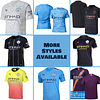 Manchester City Soccer Jersey for Men, Women, or Youth | Custom color: 2020-2021 Home|2020-2021 Road|2020-2021 Third|2019-2020 Home|2019-2020 Road|2019-2020 Third|2018-2019 Home|2018-2019 Road|2018-2019 Third  Refuse You Lose