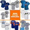 New York Mets Jersey For Men, Women, or Youth | Customizable color: 2018 Nickname|2019 Alternate Blue 1|2019 Alternate Blue 2|2019 Nickname|2020 Alternate Blue 1|2020 Alternate Blue 2|2020 Home|2020 Road|Father's Day|2019 Home|2019 Road|Home Memorial Day|Road Memorial Day  Refuse You Lose