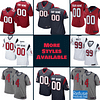 Houston Texans Football Jersey For Men, Women, or Youth | Customizable color: Black V-Neck|Gray|Alternate Red|City Edition|Pro Bowl|Salute to Service|Home|Road  Refuse You Lose