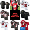 Tom Brady Buccaneers Jersey for Men, Women, or Youth color: Alternate Pewter|Black V-Neck|Salute to Service|Home|Road  Refuse You Lose