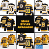 Boston Bruins Hockey Jersey For Men, Women, or Youth | Customizable color: Black Golden|Reverse Retro|Alternate|Home|Road  Refuse You Lose