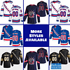 New York Rangers Jersey For Men, Women, or Youth   Customizable color: Black Golden Reverse Retro Home Road  Refuse You Lose