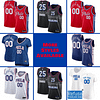 Philadelphia 76ers Jersey For Men, Women, or Youth | Customizable color: Alternate Red|City Edition|Home|Road  Refuse You Lose