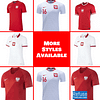 Poland Soccer Jersey For Men, Women, or Youth   Customizable color: 2020-2021 Home 2020-2021 Road 2018-2019 Home 2018-2019 Road  Refuse You Lose