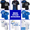 San Jose Earthquakes Jersey for Men, Women, or Youth   Customizable color: 2021 Home 2020 Home 2020 Road 2018 Home 2018 Road 2019 Home 2019 Road  Refuse You Lose