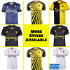 Watford FC Soccer Jersey for Men, Women, or Youth | Customizable color: 2020-2021 Home|2020-2021 Road|2020-2021 Third|2019-2020 Home|2019-2020 Road  Refuse You Lose