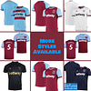 West Ham United Jersey for Men, Women, or Youth   Customizable color: 2020-2021 Home 2020-2021 Road 2020-2021 Third 2019-2020 Home 2019-2020 Road 2019-2020 Third  Refuse You Lose