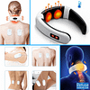 Electric Neck Massager and Pain Reliever package: With Stickers|Without Sticker  Refuse You Lose