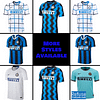 Inter Milan Soccer Jersey for Men, Women, or Youth   Customizable color: 2020-2021 Home 2020-2021 Road 2020-2021 Third 2019-2020 Home 2019-2020 Road 2018-2019 Home 2018-2019 Road  Refuse You Lose