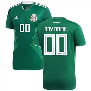 Mexico Soccer Jersey For Men, Women, or Youth | Customizable color: 2018-2019 Home|2018-2019 Road|2019-2020 Home|2019-2020 Home Long Sleeve|2019-2020 Pre-Match|2020-2021 Road  Refuse You Lose