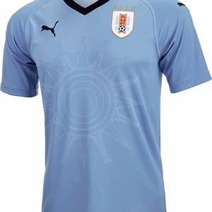 Uruguay Soccer Jersey For Men, Women, or Youth   Customizable color: 2018-2019 Home 2018-2019 Road 2019-2020 Home 2019-2020 Road  Refuse You Lose