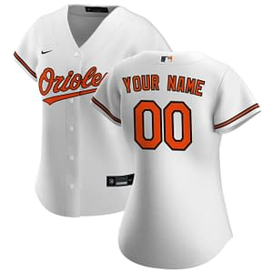 Baltimore Orioles Jersey For Men, Women, or Youth   Customizable color: 2018 Nickname 2019 Alternate Black 2019 Alternate Orange 2019 Nickname 2020 Alternate Black 2020 Alternate Orange 2020 Home 2020 Road Black V-Neck 2019 Home 2019 Road Home Memorial Day Road Memorial Day  Refuse You Lose
