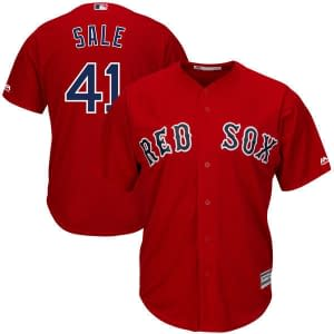 Chris Sale Boston Red Sox MLB Baseball Jersey For Men, Women, or Youth Refuse You Lose color: 2018 Nickname 2019 Alternate Navy 2019 Alternate Red 2020 Alternate Navy 2020 Alternate Red 2020 Home 2020 Road Black V-Neck 2019 Home 2019 Road