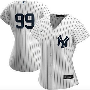 Aaron Judge New York Yankees MLB Baseball Jersey For Men, Women, or Youth color: 2018 Nickname|2019 Navy|2019 Nickname|2020 Home|2020 Navy|2020 Road|Black V-Neck|2019 Home|2019 Road|Salute to Service  Refuse You Lose