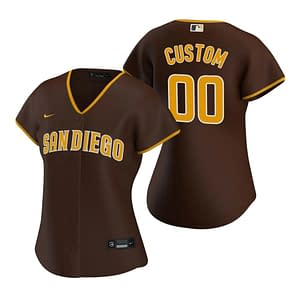 San Diego Padres Jersey For Men, Women, or Youth   Customizable color: 2018 Nickname 2019 Alternate Brown 2019 Alternate Navy 2019 Nickname 2020 Alternate Tan 2020 Home 2020 Road 2019 Home 2019 Road Blue Camouflage Camouflage Home Memorial Day Road Memorial Day  Refuse You Lose