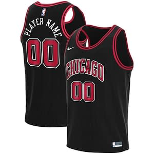 Chicago Bulls Basketball Jersey For Men, Women, or Youth | Customizable color: Alternate Black|City Edition|Home|Road  Refuse You Lose