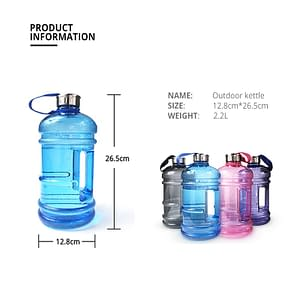 High Quality Half Gallon Water Bottle Refuse You Lose Drinkware Type: Water Bottles