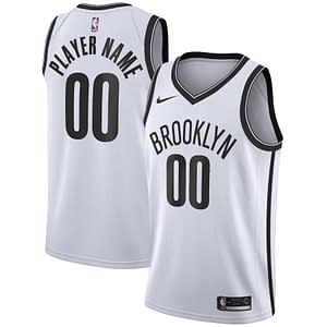 Brooklyn Nets Jersey For Men, Women, or Youth   Customizable color: Alternate Charcoal Classic City Edition Home Road  Refuse You Lose