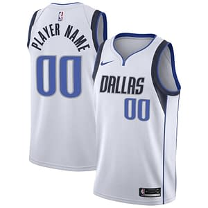 Dallas Mavericks Jersey For Men, Women, or Youth   Customizable color: Blue White Navy  Refuse You Lose
