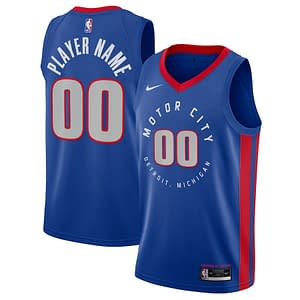 Detroit Pistons Jersey For Men, Women, or Youth   Customizable color: Alternate Gray City Edition Home Road  Refuse You Lose