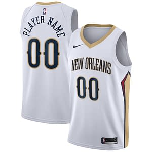 New Orleans Pelicans Jersey For Men, Women, or Youth   Customizable color: White Navy Red  Refuse You Lose