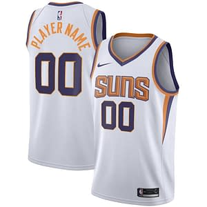 Phoenix Suns NBA Basketball Jersey For Men, Women, or Youth (Any Name and Number) color: Black White Purple  Refuse You Lose