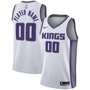Sacramento Kings NBA Basketball Jersey For Men, Women, or Youth (Any Name and Number) color: Black White Purple  Refuse You Lose