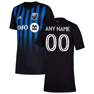 CF Montréal Soccer Jersey for Men, Women, or Youth | Customizable color: 2020 Home|2020 Road|2021 Home|2021 Road|2018 Home|2018 Road|2019 Home  Refuse You Lose