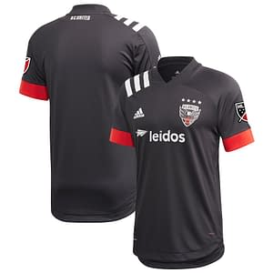 DC United Soccer Jersey for Men, Women, or Youth | Customizable color: 2020 Home|2020 Road|2021 Home|2021 Road|2018 Home|2018 Road|2019 Home|2019 Road  Refuse You Lose