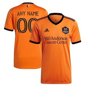 Houston Dynamo FC Jersey for Men, Women, or Youth | Customizable color: 2020 Home|2020 Road|2021 Home|2021 Road|2018 Home|2018 Road|2019 Home|2019 Road  Refuse You Lose