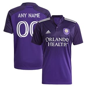 Orlando City SC Jersey for Men, Women, or Youth | Customizable color: 2018 Home|2018 Road|2019 Home  Refuse You Lose