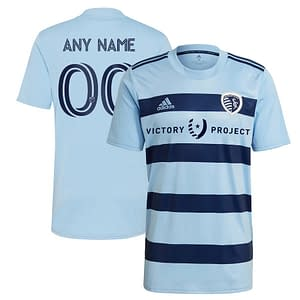 Sporting Kansas City MLS Soccer Jersey for Men, Women, or Youth (Any Name and Number) color: 2020 Home|2020 Road|2021 Home|2021 Road|2018 Home|2018 Road|2019 Home  Refuse You Lose