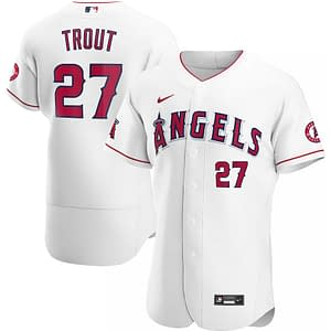 Mike Trout Angels Jersey for Men, Women, or Youth color: 2018 Nickname|2019 Nickname|2020 Alternate|2020 Home|2020 Road|Black V-Neck|2019 Alternate|Black|2019 Home|2019 Road|Cream|Memorial Day|Salute to Service|Spring Training  Refuse You Lose