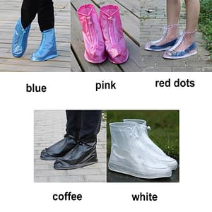 High Quality Men Women's Rain Waterproof Boots Cover Heels Boots Reusable Shoes Covers Thicker Non-slip Platform Rain Boots #921 brand: Refuse You Lose  Refuse You Lose