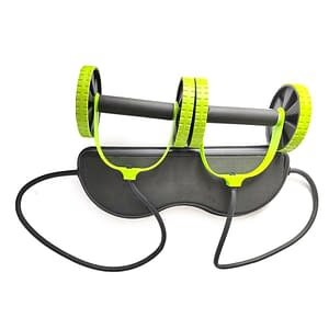 AB Wheels Roller Stretch Elastic Abdominal Resistance Pull Rope Tool AB roller for Abdominal muscle trainer exercise 2020 New Deals 🎉 color: Beige Black  Refuse You Lose https://refuseyoulose.com