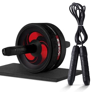 Roller&Jump Rope No Noise Abdominal Wheel Ab Roller with Mat For Exercise Fitness Equipment Accessories Body Building 2020 New Deals 🎉 Best Gifts of 2020 🎁 Best Gifts of 2020 For Women 🌹 Best Gifts of 2020 For Men 💪 color: Black with rope  Refuse You Lose https://refuseyoulose.com