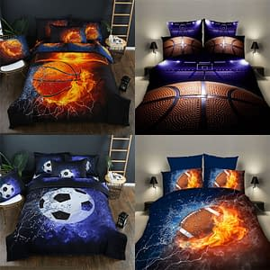 Baseball, Basketball, Football, Rugby, or Soccer Bedding Set Limited Time Deals ⏳ 2020 New Deals 🎉 Best Gifts of 2020 🎁 Best Gifts of 2020 For Boys 🙍🏻♂️ Deals For Boys 👦🏻🚂 Sports & Jerseys ⚾️🏀🏈⚽️🏒 Baseball Products ⚾️ Basketball Products 🏀 Football Products 🏈 Soccer Products ⚽️ color: baseball|Basketball|basketball fire|Football|rugby  Refuse You Lose https://refuseyoulose.com