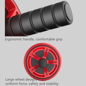 ABS Abdominal Roller Exercise Wheel Fitness Equipment Mute Roller For Arms Back Belly Core Trainer Body Shape Training Supplies 2020 New Deals 🎉 Best Gifts of 2020 🎁 Best Gifts of 2020 For Women 🌹 Best Gifts of 2020 For Men 💪 Gym & Fitness 🧘♀️🏋️♂️ Fitness Equipment 🏋️♂️ color: Black|Blue|England  Refuse You Lose https://refuseyoulose.com